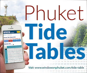 Phuket Tide Tables
