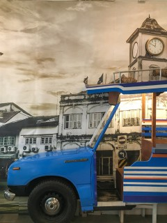 Old world flair enhances the charm of the coffee shops on Thalang Road