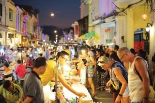 Lard Yai features local artists on stage, unique souvenir shopping and some of Phuket's best street food
