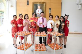 Chinese New Year at Bangkok Hospital Siriroj