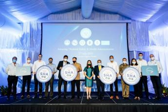 Angsana Laguna Phuket and Angsana Villas Resort Phuket Awarded 'Amazing Thailand SHA' Certificate