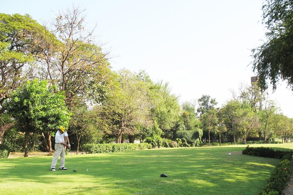 Golf course at Hua Hin