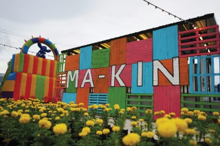 Super cute & colourful way to spend a weekend night is at MA-KIN Night Market