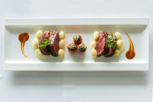 Fillet Mignon in blue cheese sauce