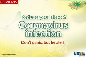 Reduce your risk of Coronavirus infection.