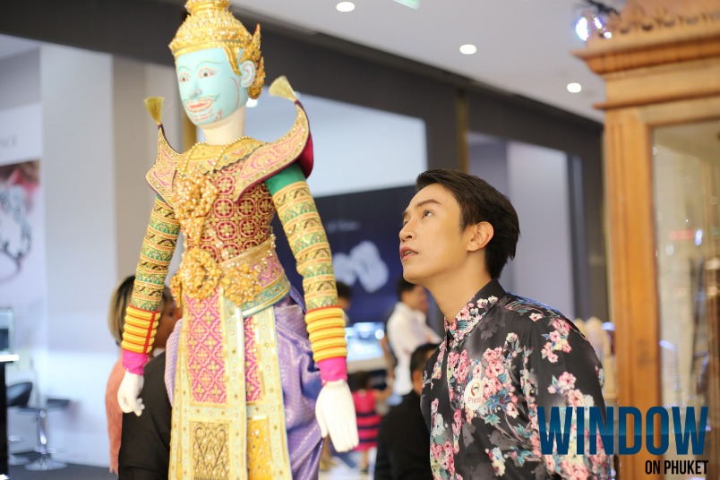 Joe Louis Traditional Thai Puppet Theater opening @ Central Phuket
