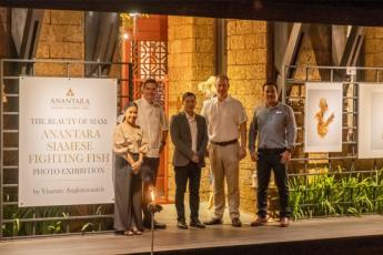 Anantara Siamese Fighting Fish Photo Exhibition Launching Event
